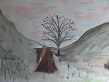 Witch at Hadrians Wall Tree as seen on Robin Hood By Alex H Parker